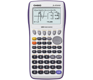 Casio Computer Co., Ltd FX-9750GII-WE FX-9750GII Graphing Calculator (White)