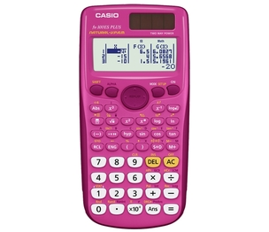 Casio Computer Co., Ltd FX-300ESPLUS-PK FX-300 ES PLUS Scientific Calculator (Pink)