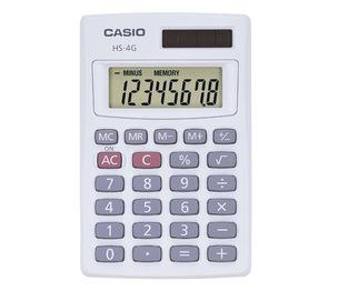 Casio Computer Co., Ltd HS-4G HS-4G Mini Handheld Calculator