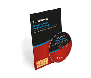 TEXAS INSTRUMENTS INC. NSCS/SP/KT/2L1 TI-Nspire CAS Student Software - PC/Mac Compatible (Single user licenses with CD)