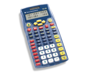 TEXAS INSTRUMENTS INC. 15/PWB TI-15 Explorer Calculator with Fraction Capabilities (White Box)