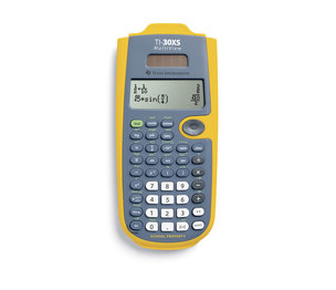 TI-30XS MultiView 4-Line Scientific Calculator EZ Spot Yellow (Teacher Kit Pack of 10)