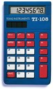 TEXAS INSTRUMENTS INC. 108/TKT TI-108 8-Digit Display Solar Power Calculator (Teacher Kit Pack of 10)
