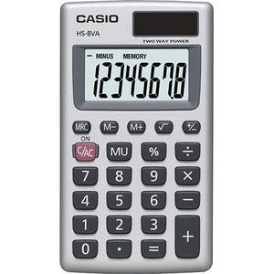 Casio Computer Co., Ltd HS-8VA HS-8VA Basic Handheld Calculator