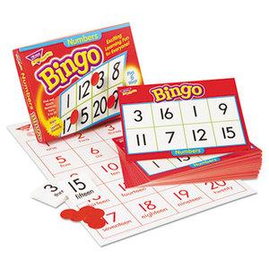 TREND ENTERPRISES, INC. T6068 Young Learner Bingo Game, Numbers by TREND ENTERPRISES, INC.