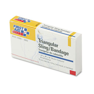 """First Aid Only, Inc AN-5071 First-Aid Refill Sling/Tourniquet Triangular Bandages, 40"""" x 40"""" x 56"""", 10/Pack by FIRST AID ONLY, INC."""