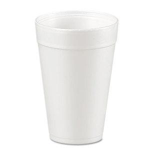 Drink Foam Cups, 32oz, White, 25/Bag, 20 Bags/Carton by DART