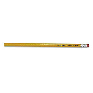 DIXON TICONDEROGA COMPANY 14412 Woodcase Pencil, HB #2 Lead,Yellow Barrel, 144/Box by DIXON TICONDEROGA CO.