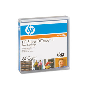 "Hewlett-Packard HP Q2020A 1/2"" Super DLT II Cartridge, 2066ft, 300GB Native/600GB Comp Capacity by HEWLETT PACKARD COMPANY"