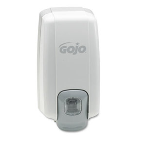 Gojo Industries, Inc 2130-06 NXT Lotion Soap Dispenser, 1000mL, 5 1/8w x 3 3/4d x 10h, Dove Gray by GO-JO INDUSTRIES