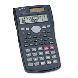 Casio Computer Co., Ltd FX-300MS FX-300MS Scientific Calculator, 10-Digit LCD by CASIO, INC.
