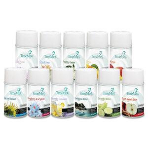 Zep, Inc. 33-2607TMCA Fragrance Dispenser Refills, Assorted Fragrances, 6.6oz, 12/Carton by ZEP INC.
