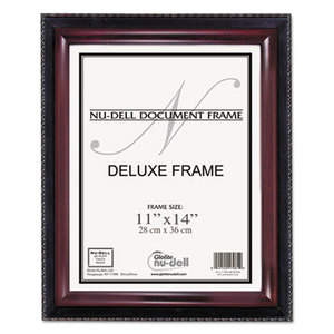 Nu-Dell Manufacturing Company, Inc 17403 Executive Document Frame, 11 x 14, Black/Mahogany by NU-DELL MANUFACTURING