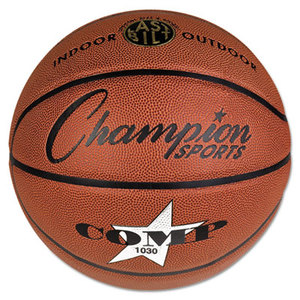 """CHAMPION SPORTS SB1030 Composite Basketball, Official Intermediate, 29"""", Brown by CHAMPION SPORT"""