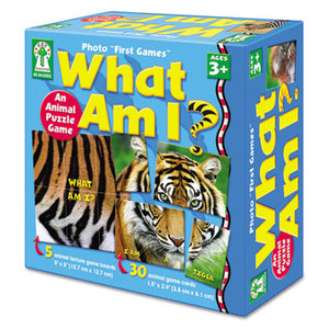 Carson-Dellosa Publishing Co., Inc KE-842002 Photo First Games, What Am I by CARSON-DELLOSA PUBLISHING