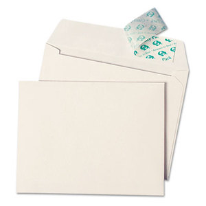 QUALITY PARK PRODUCTS 10742 Greeting Card/Invitation Envelope, Contemp., Redi-Strip, #10 , 50/Box by QUALITY PARK PRODUCTS