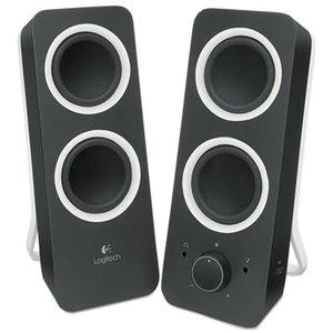 Logitech 980-000800 Z200 Multimedia 2.0 Stereo Speakers, Black by LOGITECH, INC.
