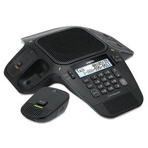 VTech Holdings, Ltd VCS704 ErisStation Conference Phone with Wireless Mics by VTECH COMMUNICATIONS