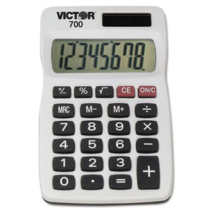 Victor Technology, LLC 700 700 Pocket Calculator, 8-Digit LCD by VICTOR TECHNOLOGIES