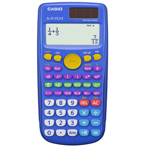 FX-55PLUS Fraction & Scientific Calculator