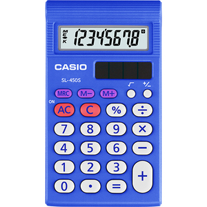 Casio Computer Co., Ltd SL-450S SL-450S Basic 4 Function Calculator