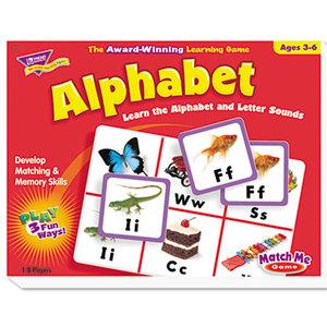 TREND ENTERPRISES, INC. T58101 Alphabet Match Me Puzzle Game, Ages 4-7 by TREND ENTERPRISES, INC.