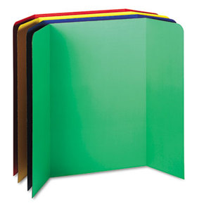 Spotlight Corrugated Presentation Display Boards, 48 x 36, Assorted, 4/Carton by PACON CORPORATION