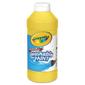Washable Paint, Yellow, 16 oz by BINNEY & SMITH / CRAYOLA
