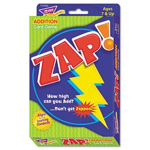 TREND ENTERPRISES, INC. T76303 Zap Math Card Game, Ages 7 and Up by TREND ENTERPRISES, INC.