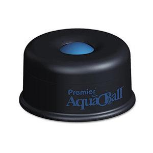 "PREMIER MARTIN YALE AQ701G AquaBall Floating Ball Envelope Moistener, 1 1/4"" x 1 1/4"" x 5 3/8"", Black, Blue by PREMIER MARTIN YALE"