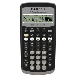 TI BA II Plus Best Selling Financial Calculator