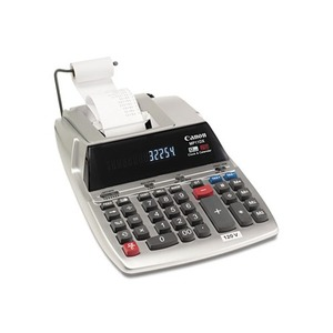 Canon, Inc MP11DX MP11DX Two-Color Printing Desktop Calculator, Black/Red Print, 3.7 Lines/Sec by CANON USA, INC.