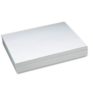 """PACON CORPORATION 2623 Alternate Dotted 1/2"""" Ruled Newsprint Paper, 11 x 8-1/2, White, 500 Sheets/Pack by PACON CORPORATION"""