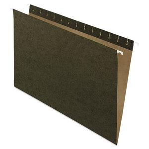 Hanging File Folders, Untabbed, Legal, Standard Green, 25/Box by ESSELTE PENDAFLEX CORP.