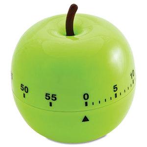 """BAUMGARTENS 77056 Shaped Timer, 4 1/2"""" dia., Green Apple by BAUMGARTENS"""