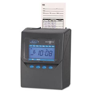 Lathem Time Company 7500E Totalizing Time Recorder, Gray, Electronic, Automatic by LATHEM TIME CORPORATION