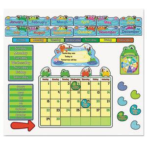 Carson-Dellosa Publishing Co., Inc 110205 FUNky Frog Calendar Bulletin Board Set by CARSON-DELLOSA PUBLISHING