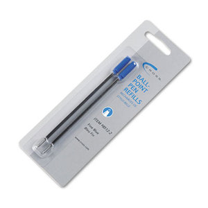 A. T. Cross Company 8512-2 Refills for Ballpoint Pens, Fine, Blue Ink, 2/Pack by A.T. CROSS COMPANY