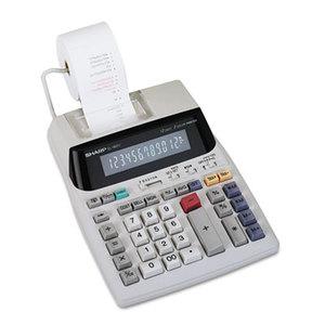 Sharp Electronics EL1801V EL-1801V Two-Color Printing Calculator, Black/Red Print, 2.1 Lines/Sec by SHARP ELECTRONICS