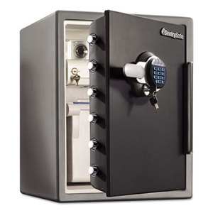 Sentry Group SFW205GRC Electronic Water-Resistant Fire-Safe, 2 ft3, 18 2/3 x 19 3/8 x 23 7/8, Black by SENTRY