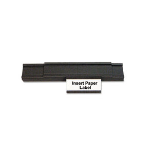 Bi-silque S.A FM1310 Magnetic Card Holders, 2w x 1h, Black, 25/Pack by BI-SILQUE VISUAL COMMUNICATION PRODUCTS INC