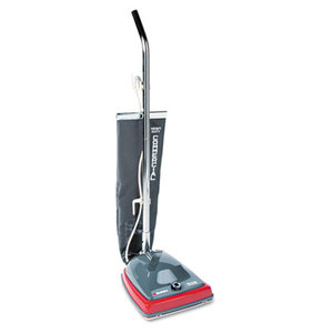 Electrolux Home Care Products SC679J Sanitaire Commercial Lightweight Bag-Style Upright Vac, 12lb, Gray/Red by ELECTROLUX FLOOR CARE COMPANY