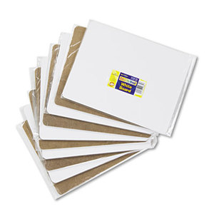 The Chenille Kraft Company 9881-10 Unruled Student Dry-Erase Board, Melamine, 12 x 9, White, 10/Set by THE CHENILLE KRAFT COMPANY