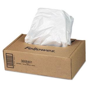 Fellowes, Inc 3608401 AutoMax Shredder Waste Bags, 16-20 gal, 50/CT by FELLOWES MFG. CO.