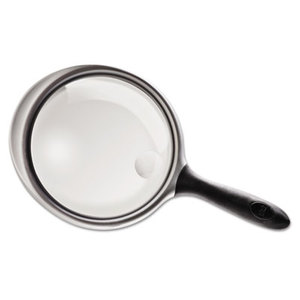 """Bausch & Lomb, Inc 813305 2X - 4X Round Handheld Magnifier w/Acrylic Lens, 5"""" diameter by BAUSCH & LOMB, INC."""