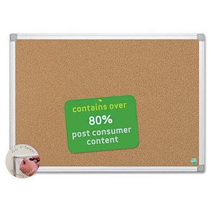 Bi-silque S.A CA271790 Earth Cork Board, 48 x 72, Aluminum Frame by BI-SILQUE VISUAL COMMUNICATION PRODUCTS INC