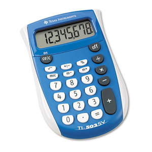 TEXAS INSTRUMENTS INC. TI-503SV TI-503SV Pocket Calculator, 8-Digit LCD by TEXAS INSTRUMENTS
