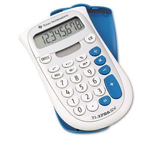 TEXAS INSTRUMENTS INC. TI-1706SV TI-1706SV Handheld Pocket Calculator, 8-Digit LCD by TEXAS INSTRUMENTS
