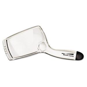 "Bausch & Lomb, Inc 2206 2X - 6X Sight Savers Rectangular Handheld Magnifier w/Acrylic Lens, 4"" x 2"" by BAUSCH & LOMB, INC."