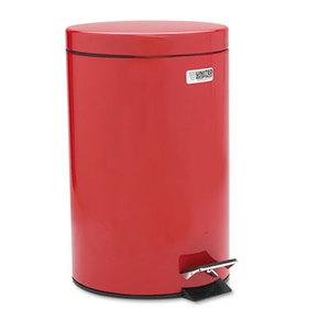 RUBBERMAID COMMERCIAL PROD. FGMST35EPLRD Medi-Can, Round, Steel, 3.5gal, Red by RUBBERMAID COMMERCIAL PROD.